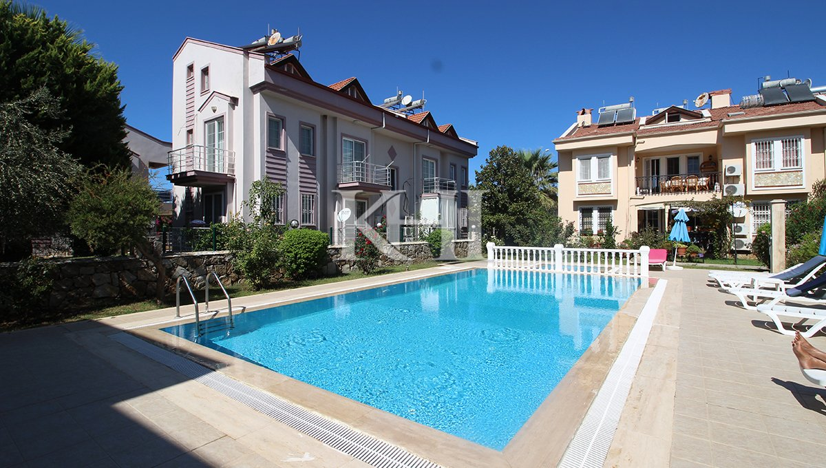 Calis duplex Apartment for Sale with swimming pool