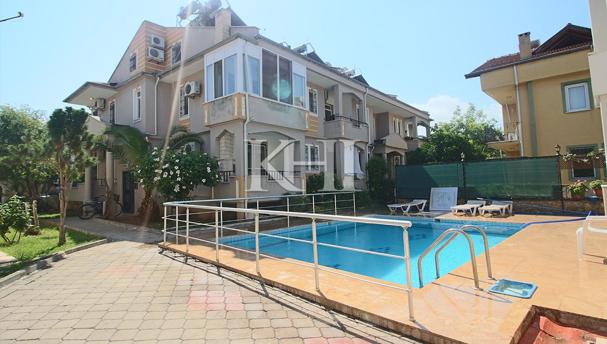 Three-Bedroom Duplex Apartment For Sale In Fethiye
