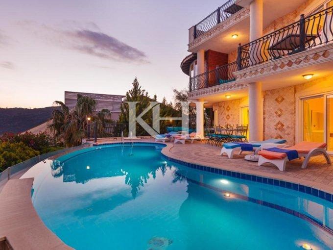 Detached Villa in Kiziltas, Kalkan