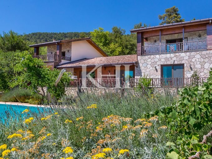 Luxury Stone House with Stunning Seaview in Kalkan