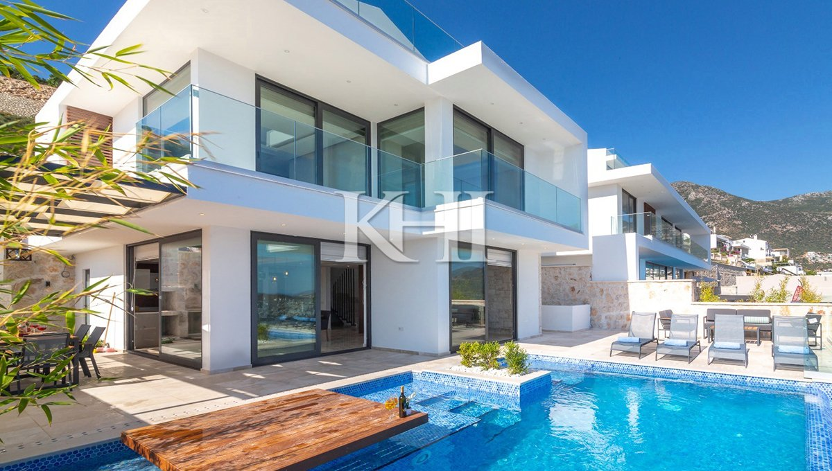 Triplex Villa in Kalkan for Sale