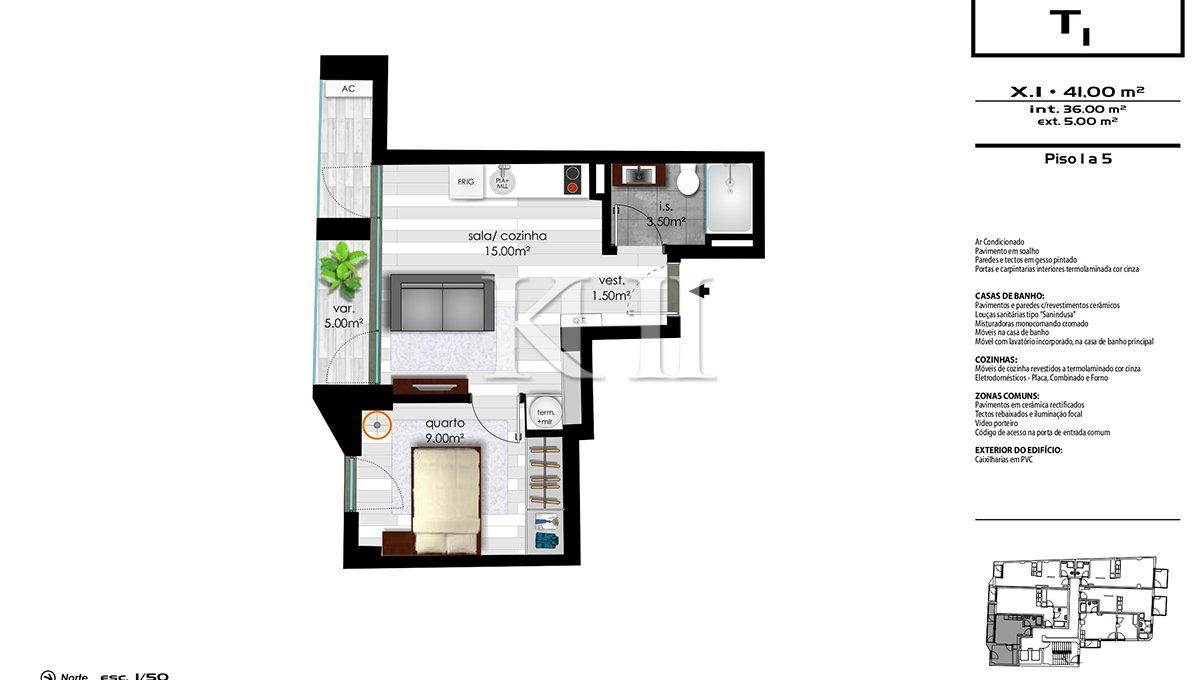 1_0005_Floor plan 1bed x1