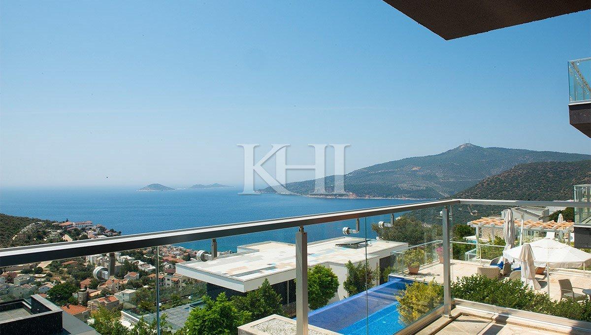 2 Bedroom Superb Seaview Kalkan Apartment