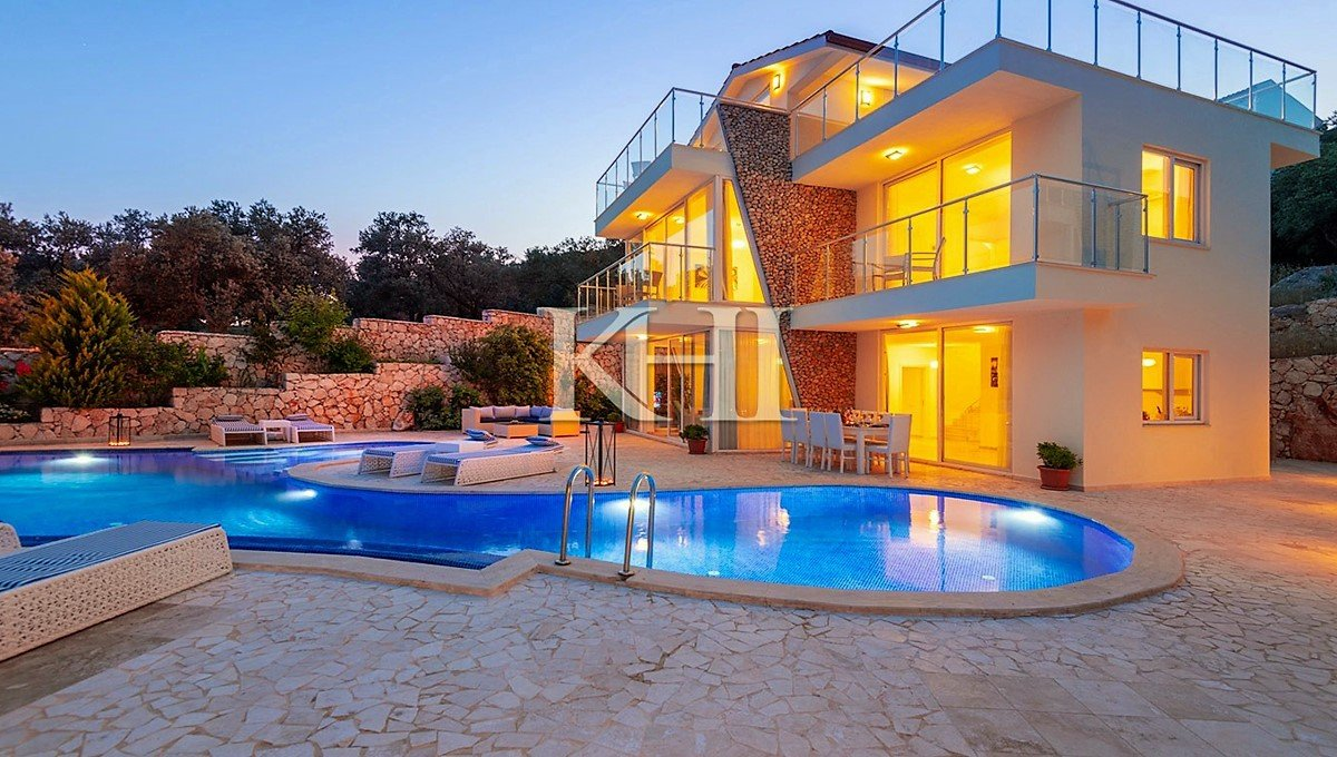 Luxury Five-Bedroom Kalkan Villa For Sale