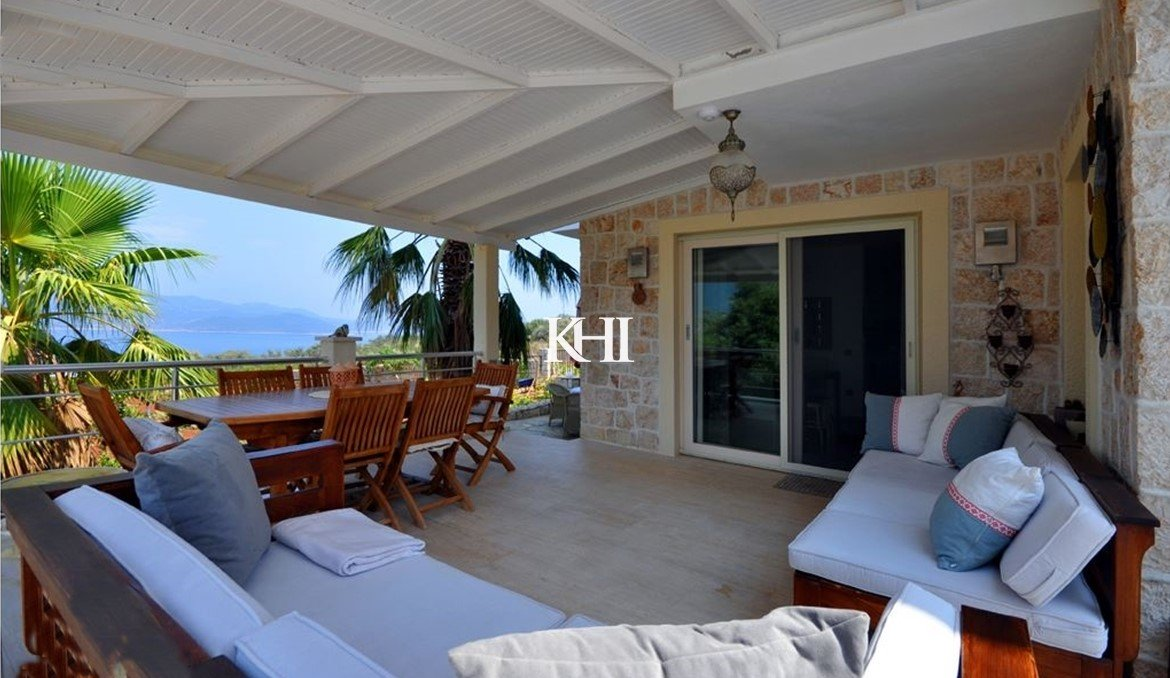 sea view property in Kas