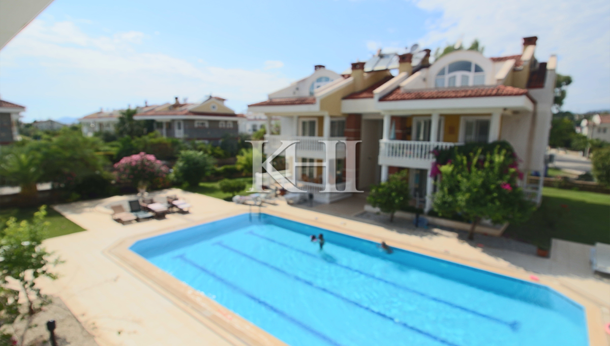 Two-Bedroom Duplex Apartment For Sale In Calis