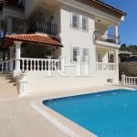 Furnished Villa With A Pool For Sale In Uzumlu