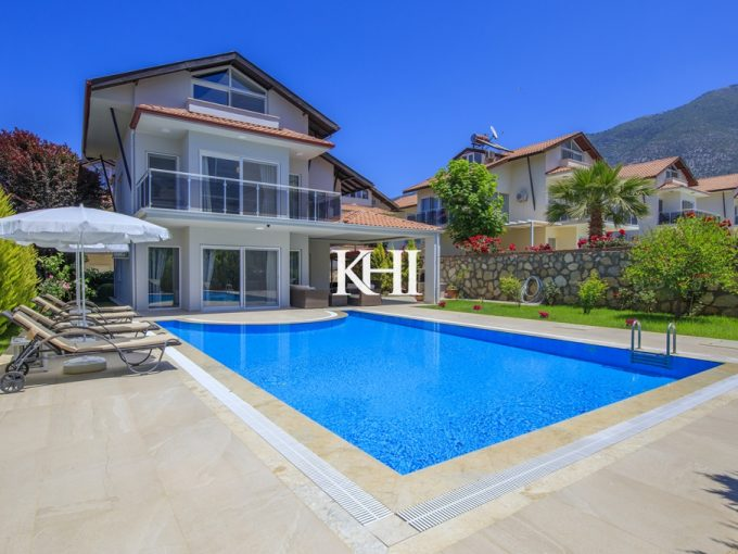 Fully-Furnished Villa For Sale in Ovacik