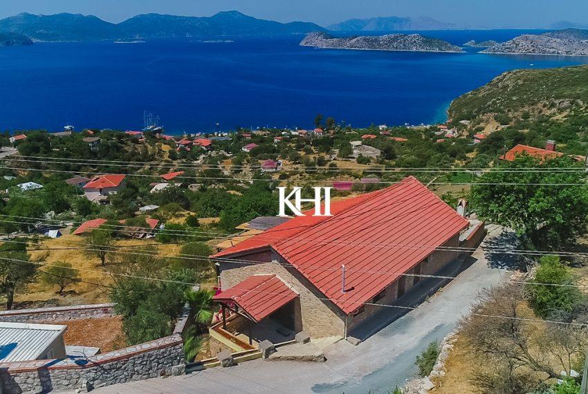 stone built house in Marmaris