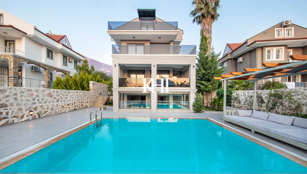 Ovacik Villa For Sale With An Indoor Pool