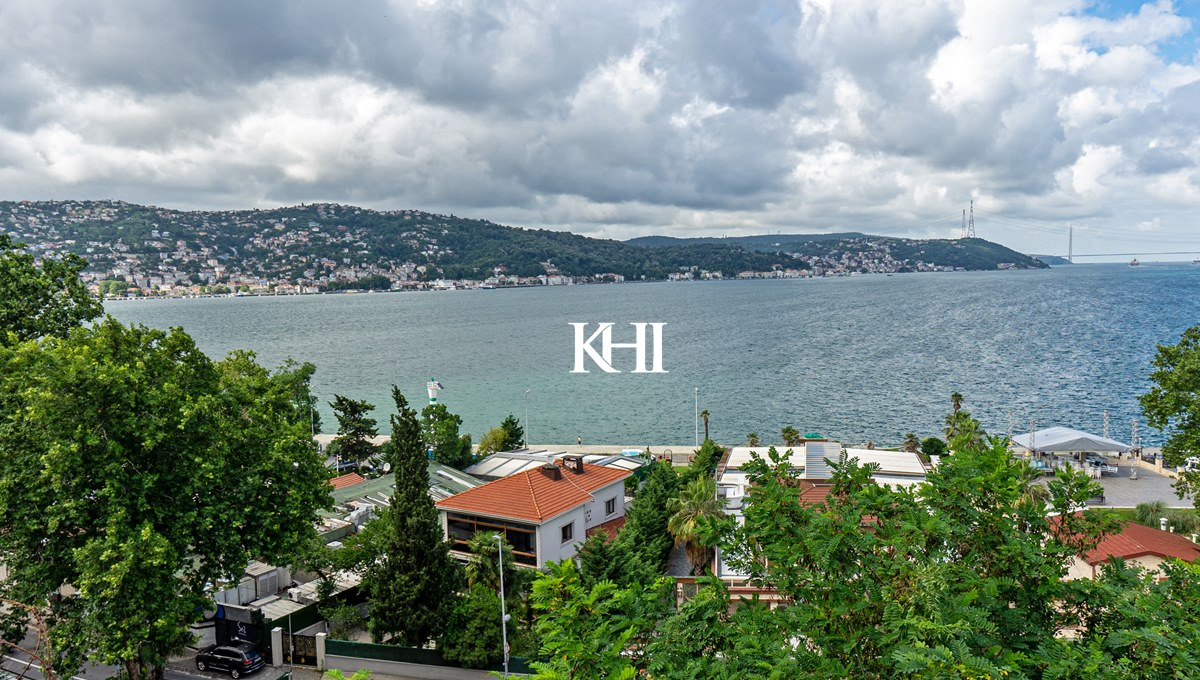 Istanbul Home With Bosphorus View For Sale