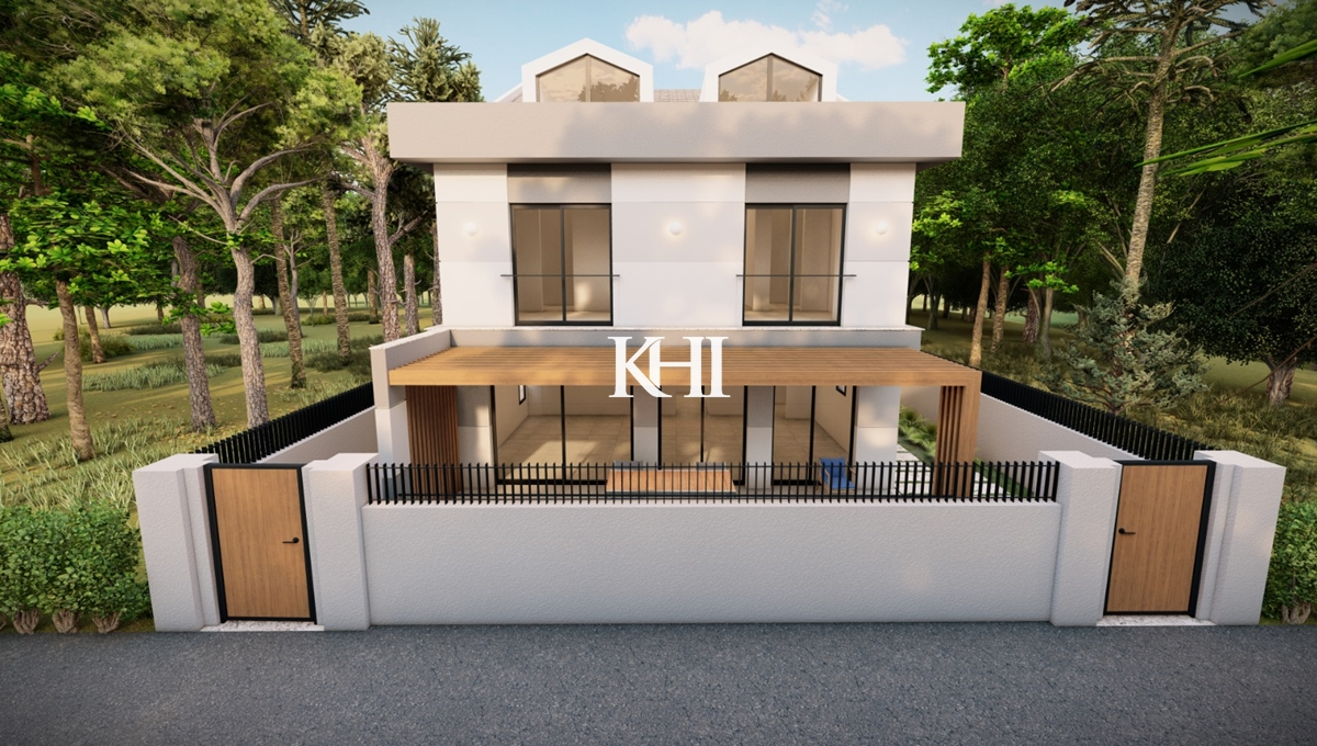 Twin Semi-Detached Villas For Sale In Central Fethiye