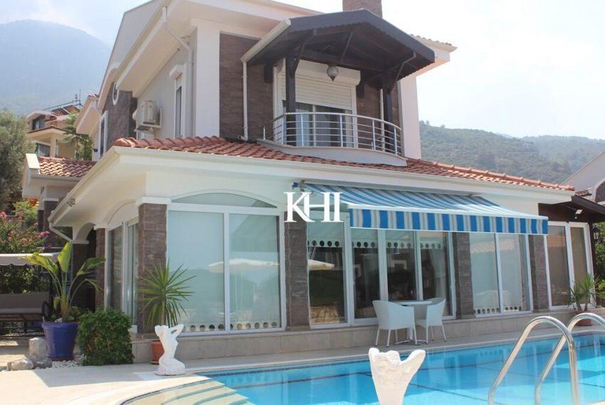 detached family villa in Ovacik