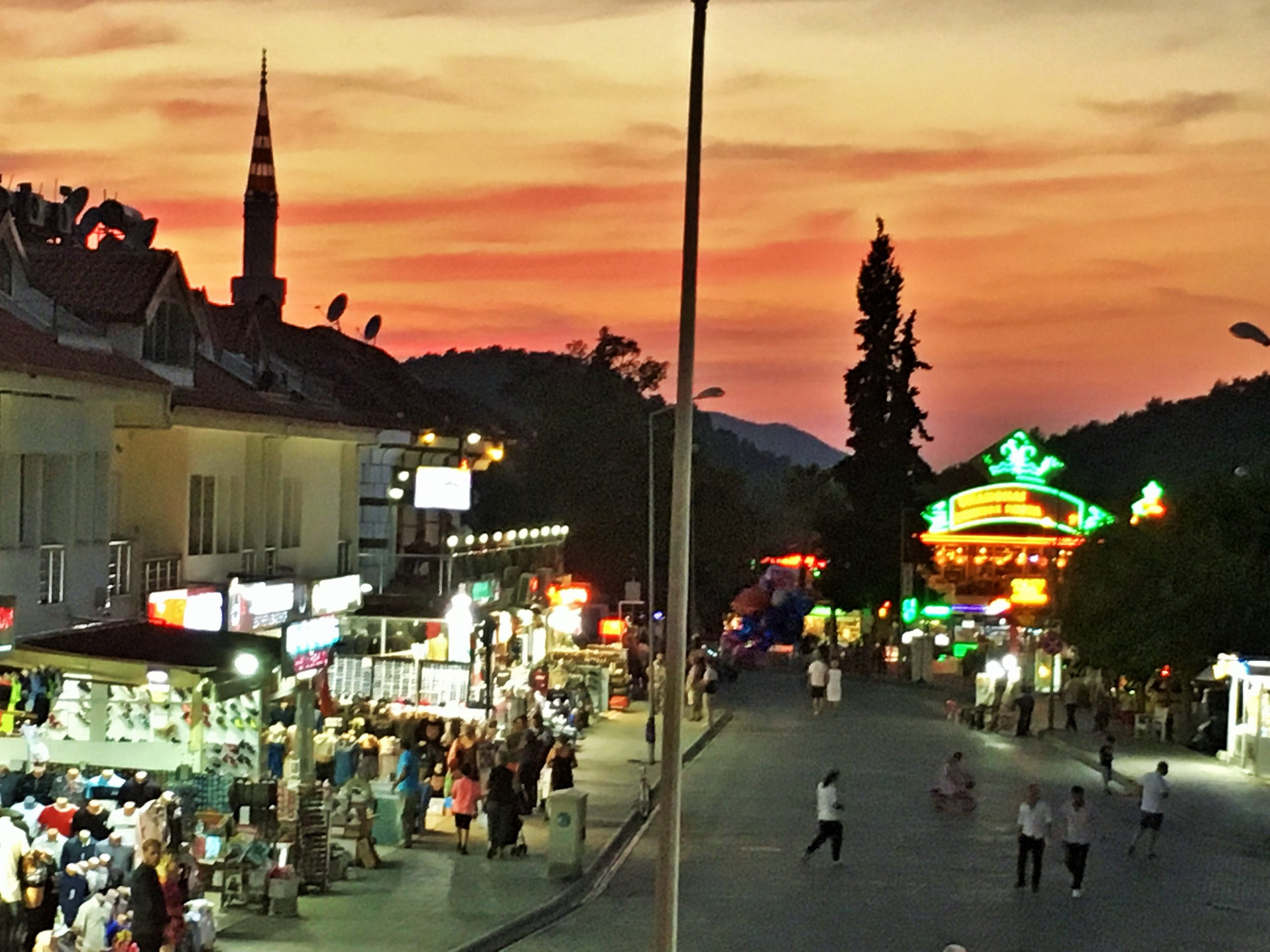 An image to show the summer resort of Hisaronu