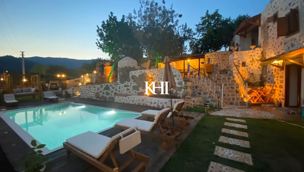 Restored Stone House In Kayakoy For Sale