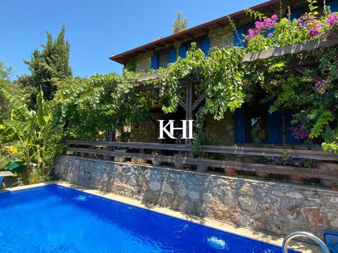 Traditional house For Sale in Kayakoy
