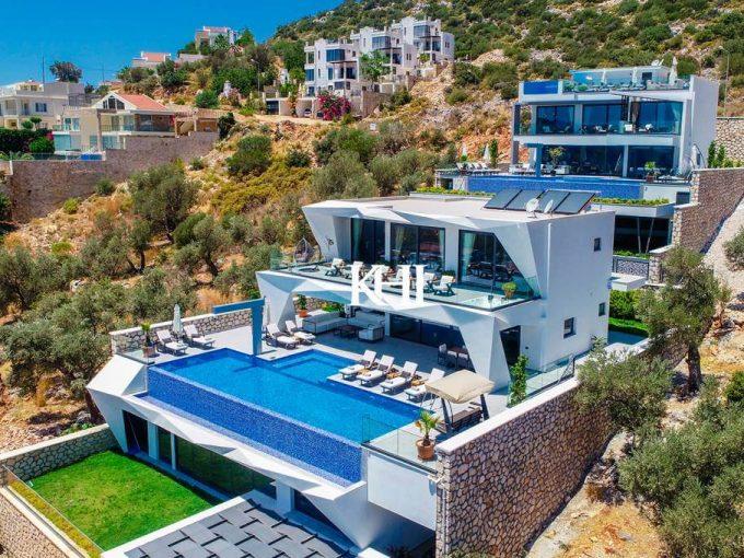 Ultra Luxury Sea-View Villa in Kalkan