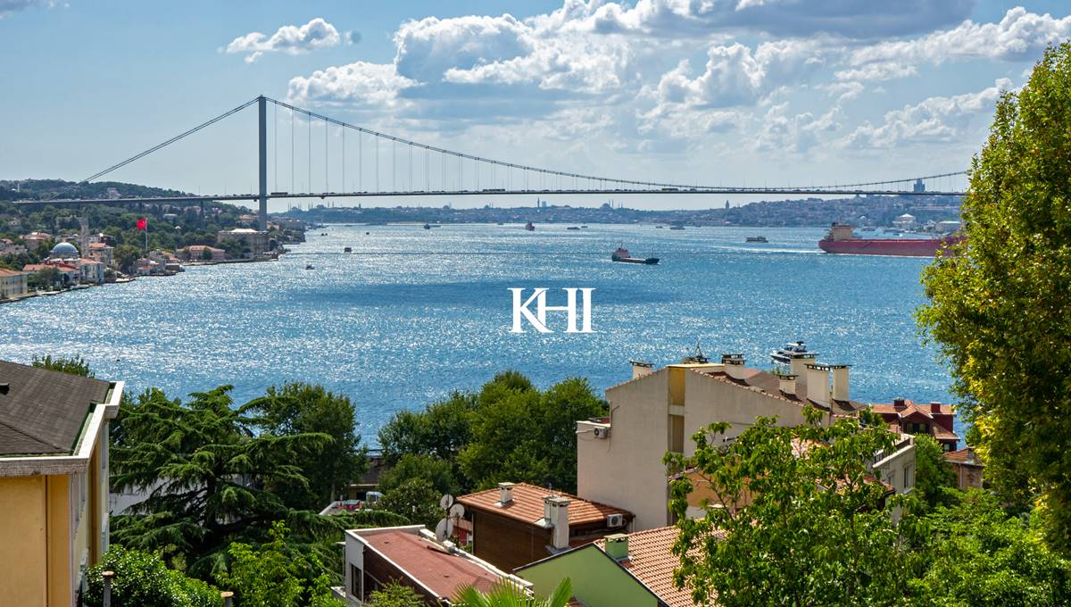 Bosphorus View House For Sale