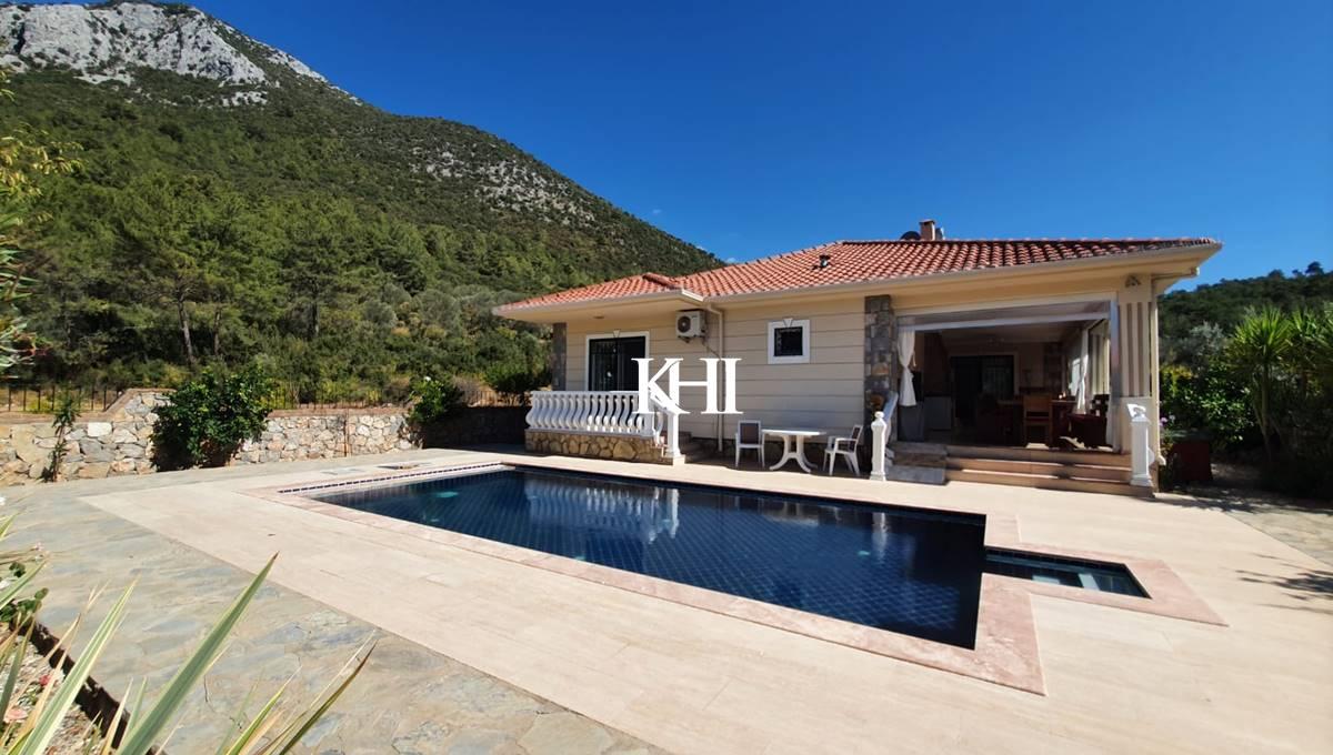 Nice Mountain View Villa in Uzumlu